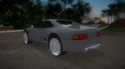 Toyota MR2 MKII for GTA Vice City miniature 4