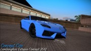 Lamborghini Estoque Concept 2012 for GTA Vice City miniature 1
