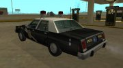 Ford LTD Crown Victoria 1987 New Mexico State Police for GTA San Andreas miniature 4