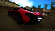 McLaren P1 2013 for GTA Vice City miniature 3