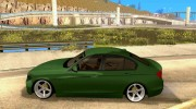 BMW 3 Series F30 Stanced 2012 для GTA San Andreas миниатюра 2