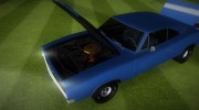 Dodge Charger 1967 for GTA Vice City miniature 5