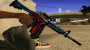 M4a1 Hyper Beast for GTA San Andreas miniature 1