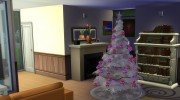 4 Recoloured Holiday Christmas Tree Set for Sims 4 miniature 3