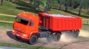 КамАЗ 6460 for Euro Truck Simulator 2 miniature 1