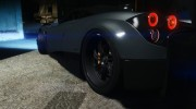 2014 Pagani Huayra 1.1 for GTA 5 miniature 2