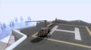 Robinson R44 Raven II NC 1.0 Скин 4 for GTA San Andreas miniature 1