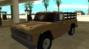 Dodge D100 1968 for GTA San Andreas miniature 1