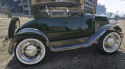 Ford T 1927 Roadster for GTA 5 miniature 8