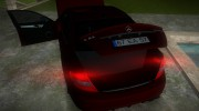 Mercedes-Benz C63 (AMG) 2010 for GTA Vice City miniature 7