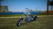 Harley-Davidson Black Death for GTA Vice City miniature 1