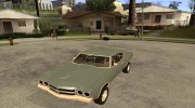 Chevrolet Chevelle SS for GTA San Andreas miniature 1