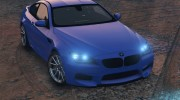 2013 BMW M6 Coupe for GTA 5 miniature 7