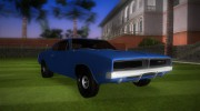 Dodge Charger 1967 for GTA Vice City miniature 2