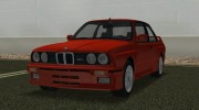 BMW M3 (E30) 1987 for GTA Vice City miniature 1