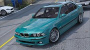 BMW M5 E39 1.1 for GTA 5 miniature 4