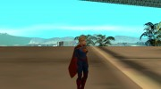 Supergirl Legendary from DC Comics Legends для GTA San Andreas миниатюра 2