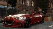 2016 Subaru BRZ STI Concept for GTA 4 miniature 4