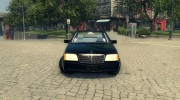 Mercedes S600 W140 for Mafia II miniature 4