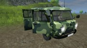 УАЗ 3909 военный для Farming Simulator 2013 миниатюра 8
