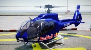 Eurocopter EC130 B4 Red Bull for GTA 4 miniature 2