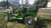 Ford T 1910 Passenger Open Touring Car for GTA 5 miniature 8