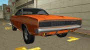 Dodge Charger 1968 RT 426 for GTA Vice City miniature 5