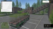 Joskin Wago Trailed 10m Autoloader v 1.0 for Farming Simulator 2015 miniature 9