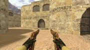 Dual Elites Узор мертвеца for Counter Strike 1.6 miniature 2