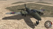 Gloster Meteor Mk. III Alpha для BeamNG.Drive миниатюра 1