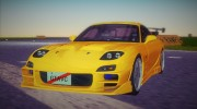 Mazda RX-7 FD3S Tuning for GTA Vice City miniature 1