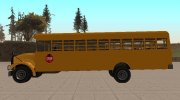 Vapid School Bus (BENSON of GTA IV) for GTA San Andreas miniature 5