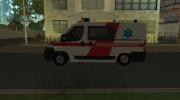 Fiat Ducato Lithuanian Ambulance for GTA San Andreas miniature 2