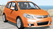 Suzuki SX4 Sport Back 2010 for BeamNG.Drive miniature 1