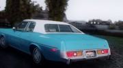Plymouth Fury Salon (RL41) 1978 для GTA San Andreas миниатюра 6