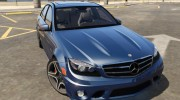2014 Mercedes-Benz C63 AMG W204 1.0 for GTA 5 miniature 14
