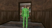 Female Green Pajamas DLC for GTA San Andreas miniature 5