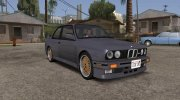 BMW M3 E30 (US-spec) 1991 for GTA San Andreas miniature 1