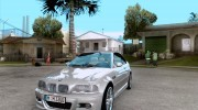 BMW M3 e46 for GTA San Andreas miniature 1