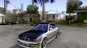 BMW M5 E34 for GTA San Andreas miniature 1