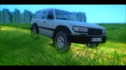 Toyota Land Cruiser 80 1995 для GTA San Andreas миниатюра 1