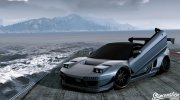 Honda NSX Rocket Bunny for GTA 5 miniature 1