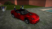 Chevrolet Corvette ZR1 Black Revel for GTA Vice City miniature 2
