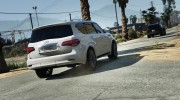 Infiniti QX56 for GTA 5 miniature 2
