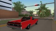 Chevrolet El Camino SS 1970 for GTA Vice City miniature 2