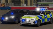 Police 2019 Ford Focus Wagon Unmarked for GTA 5 miniature 4