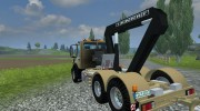 Mercedes-Benz Unimog crane devices Trailer for Farming Simulator 2013 miniature 5