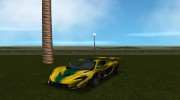 McLaren P1 GTR 2015 for GTA Vice City miniature 1