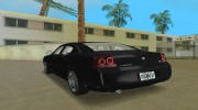 Dodge Charger R/T FBI for GTA Vice City miniature 3