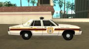 Ford LTD Crown Victoria 1991 New Castle County Police for GTA San Andreas miniature 5